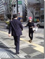 街頭配布 大阪