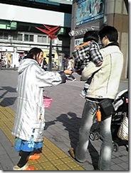 ティッシュ配布 名古屋