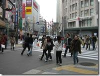 大阪 街頭配布