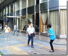 街頭配布 名古屋 愛知PR