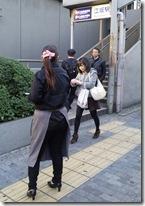 大阪江坂 街頭配布 飲食店オープン告知