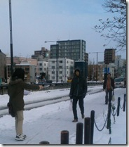 北海道 街頭配布
