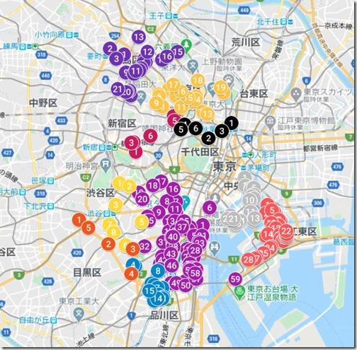 東京都_ポスティング可能な高層マンション